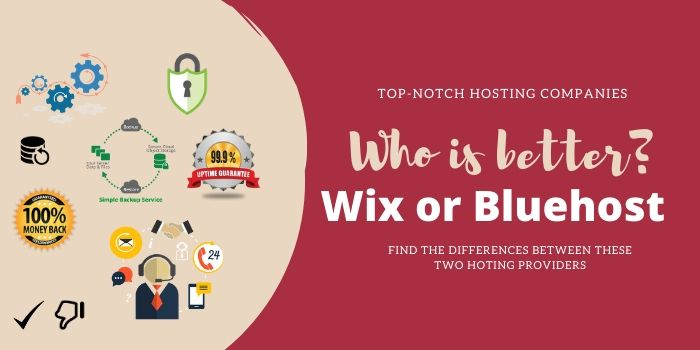 Who is Better BlueHost or Wix