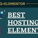 Best Hosting For Elementor